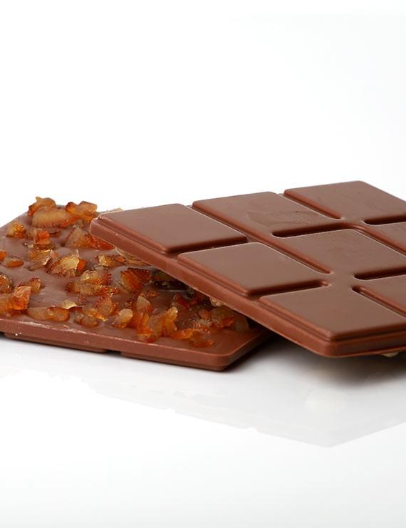 Chocolat tablette lait 35 % - Fruits