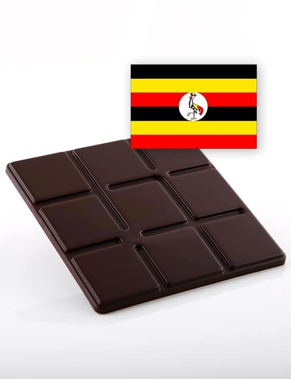 Chocolat Origine Noir Ouganda